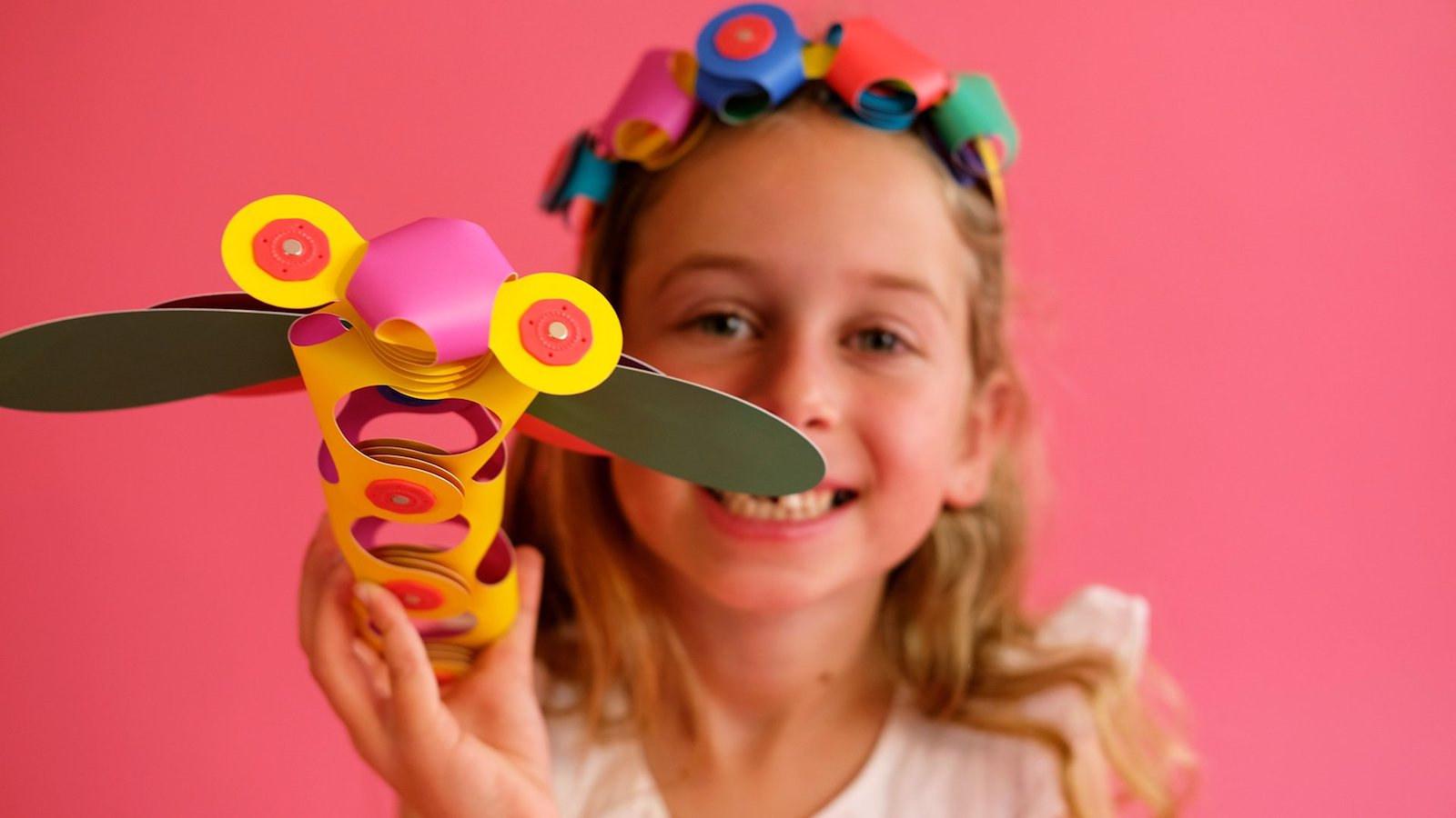 Clixo magnetic children's toys keep little ones entertained and sparks creativity