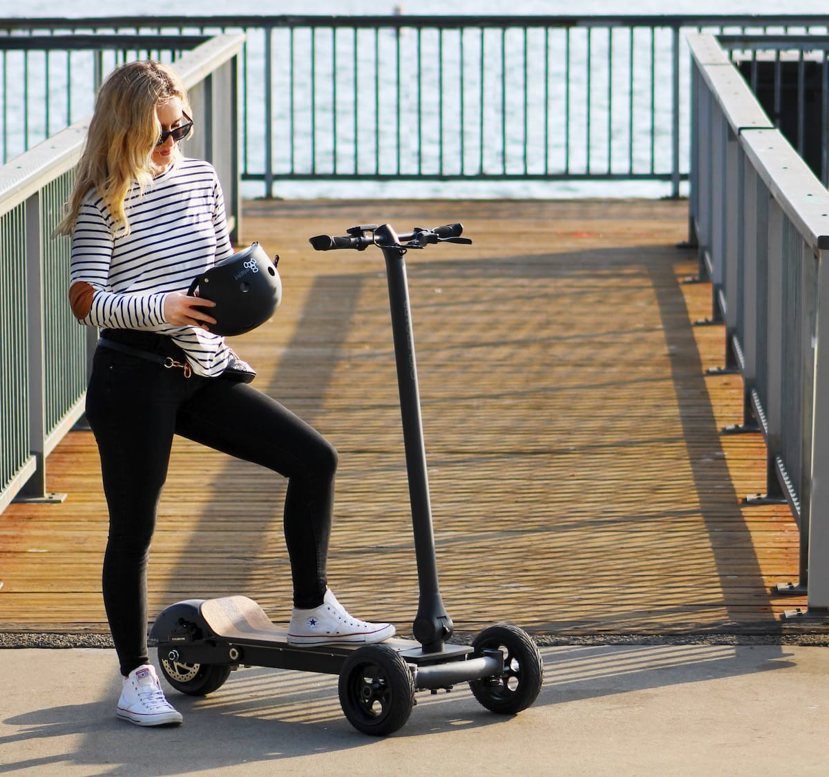 CycleBoard Elite electric street vehicle provides a great combo of safety and fun