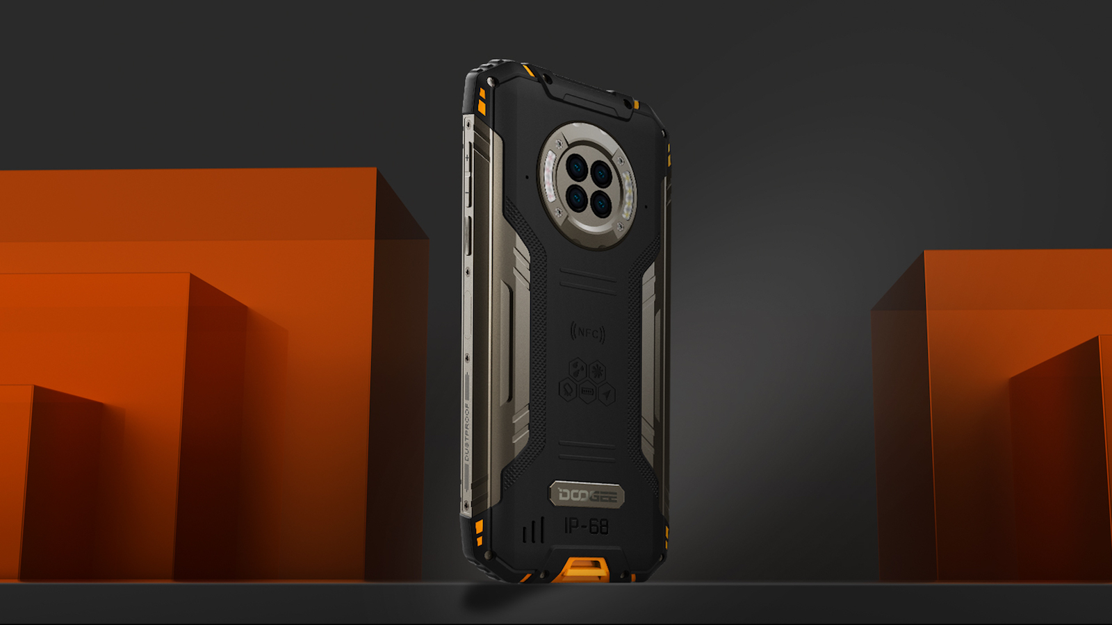 DOOGEE S96 Pro rugged phone features a Sony 20MP night vision camera