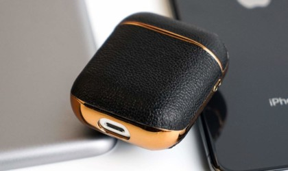 GAZE Leather Wireless Charging AirPods Case