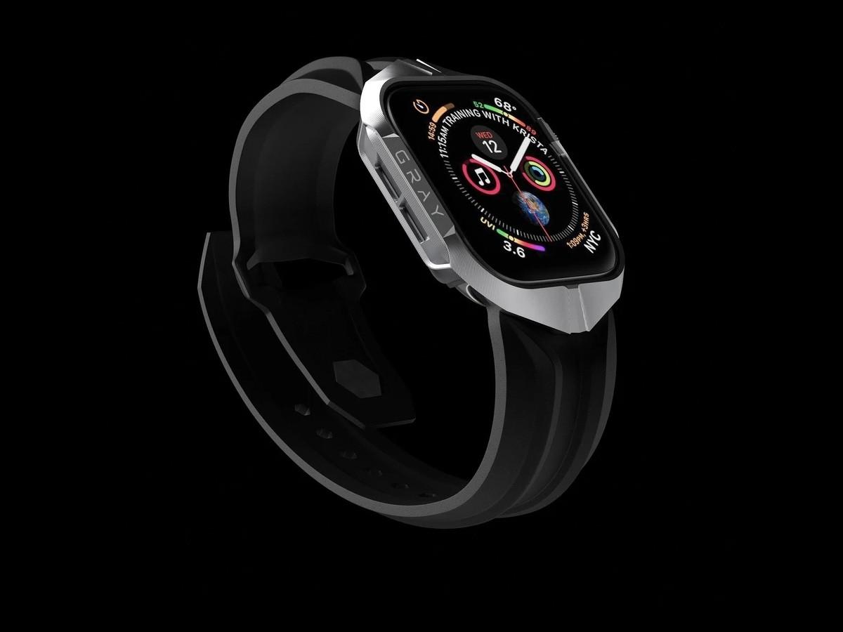 GRAY CYBER WATCH Apple Watch