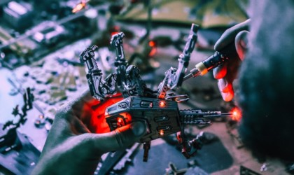 Geeek Club Cyberpunk circuit board construction sets