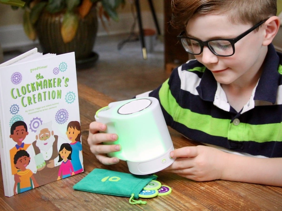 Goodtimer educational toy helps your child develop good habits