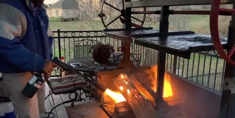 GrillBlazer GrillGun high-powered torch