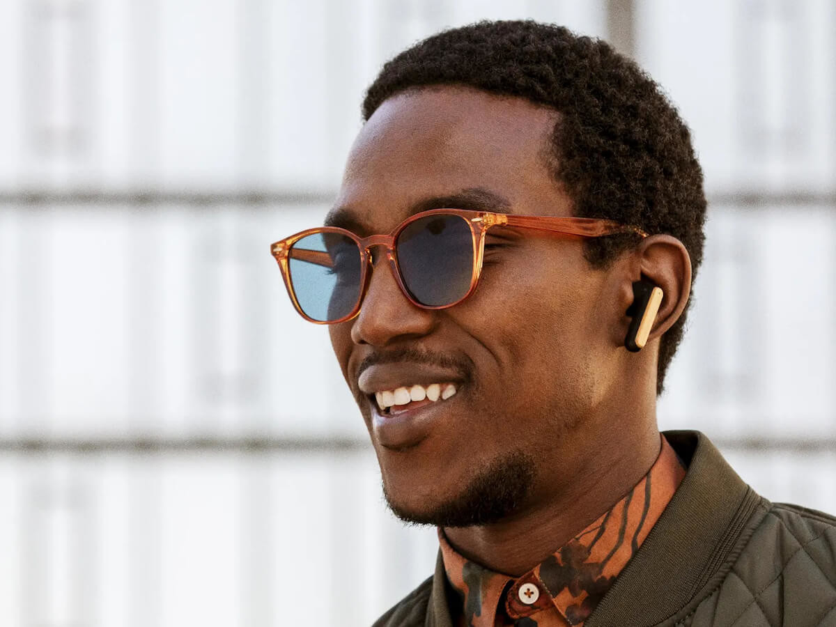 House of Marley Redemption ANC sweatproof earbuds are designed from sustainable materials