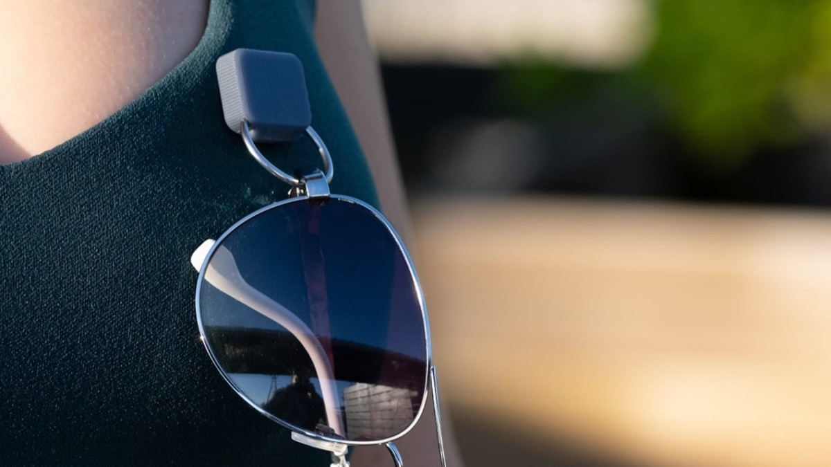 Intulon Universal Magnetic Eyeglass Holder keeps your glasses secure and within reach