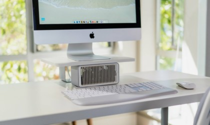 Kensington Coolview Wellness Monitor Stand with Desk Fan