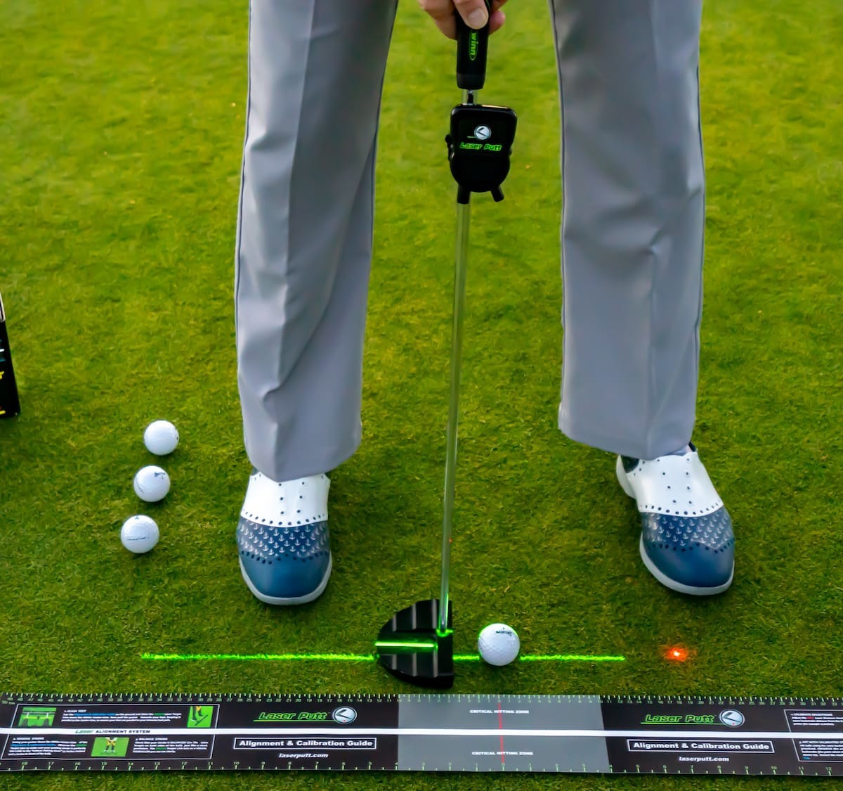 LaserPutt putting aid can help you improve your golf game