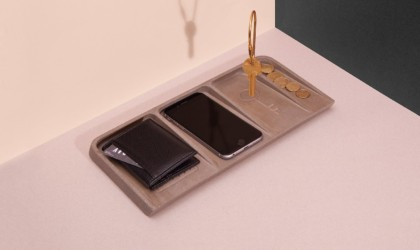 Le Videpoche Metal Valet Tray