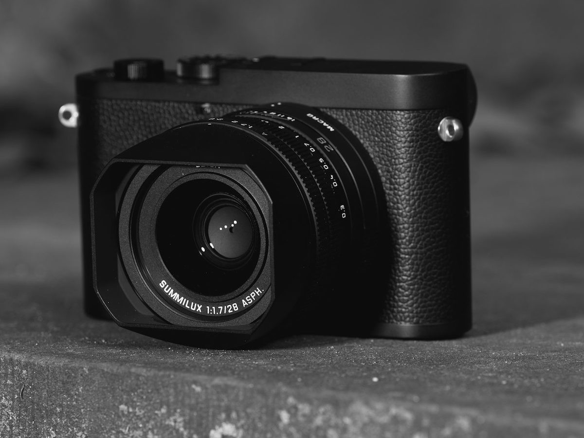 Leica Q2 Monochrom full-frame digital compact camera produces only black & white images