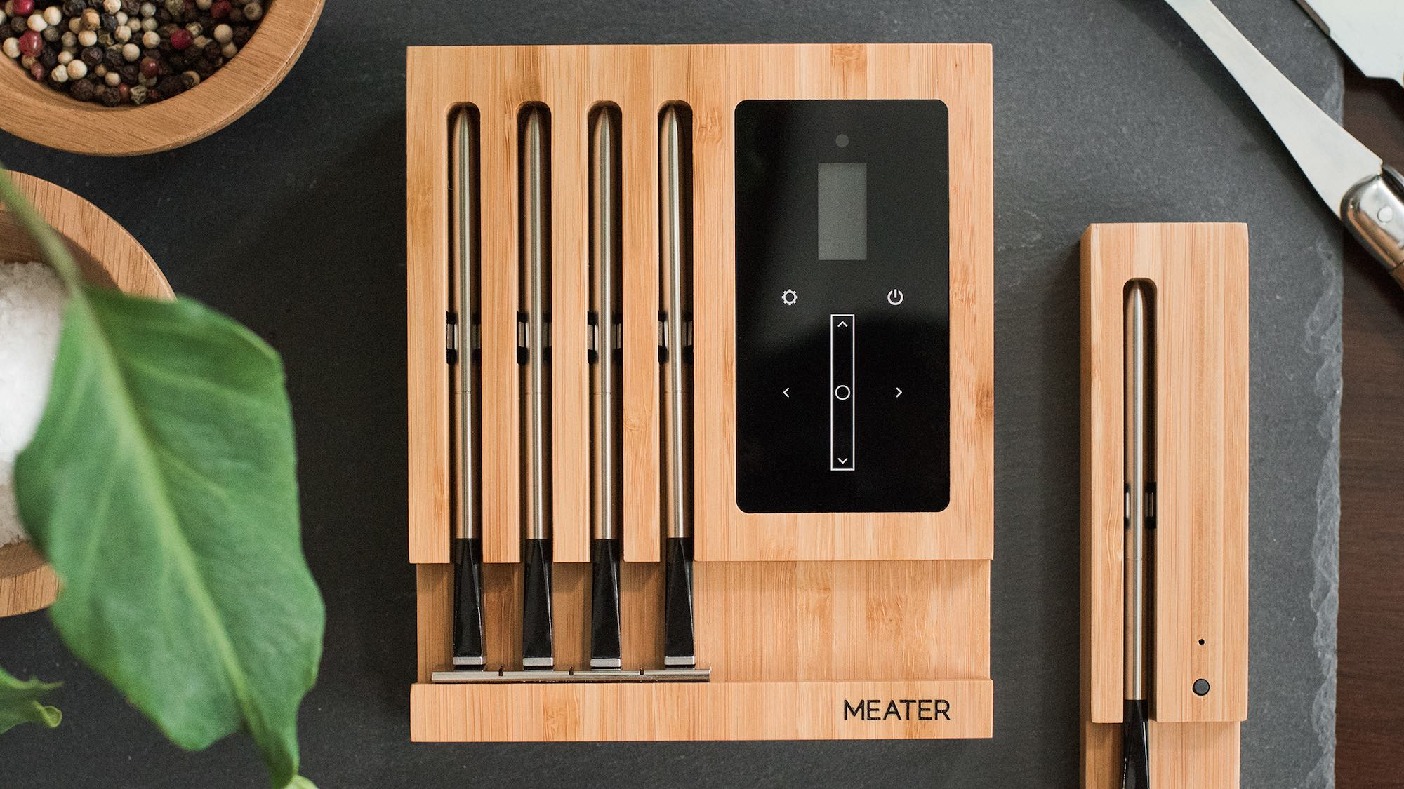 MEATER Block smart cooking probes allow you to accurately cook food to your liking