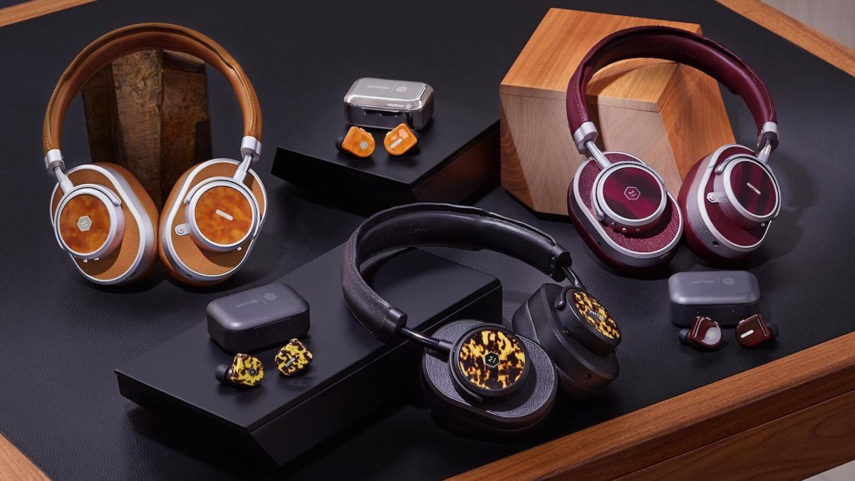 Master & Dynamic x Oliver Peoples headphone series captures the eyewear brand's patterns