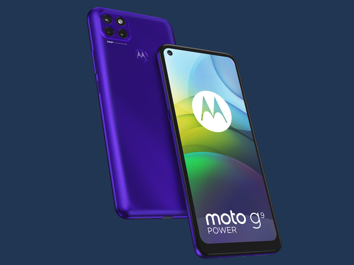 motorola moto g9 power large-battery smartphone has a huge 6,000 mAh battery