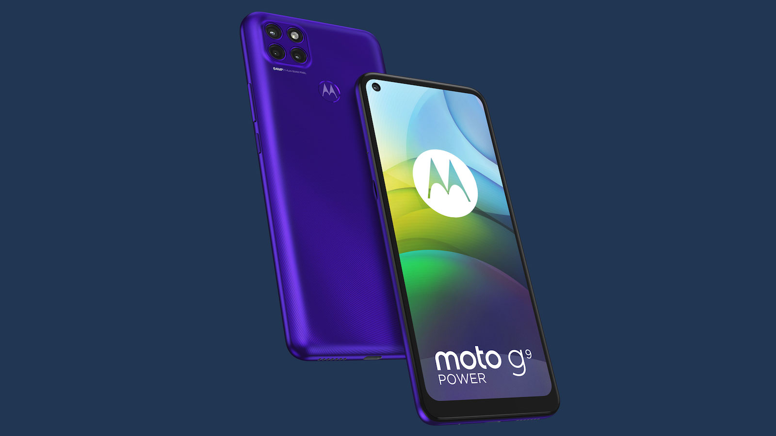 motorola moto g9 power large-battery smartphone has a huge 6,000 mAh battery