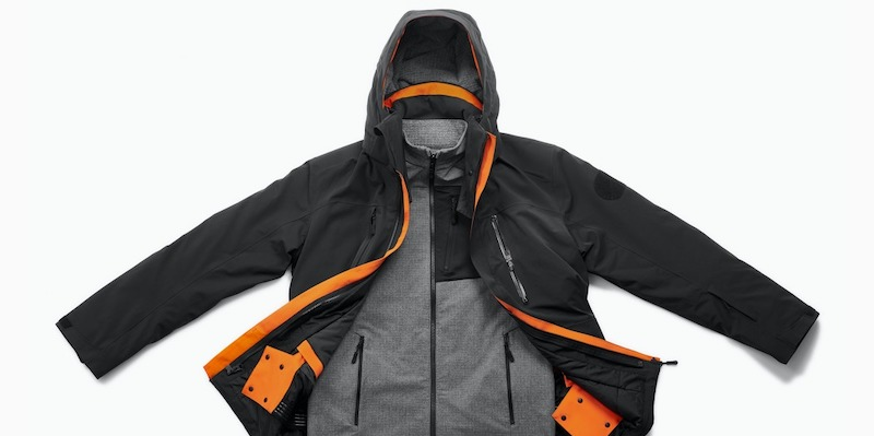 Multi-Climate 3 in 1 Coffee Grind Jacket