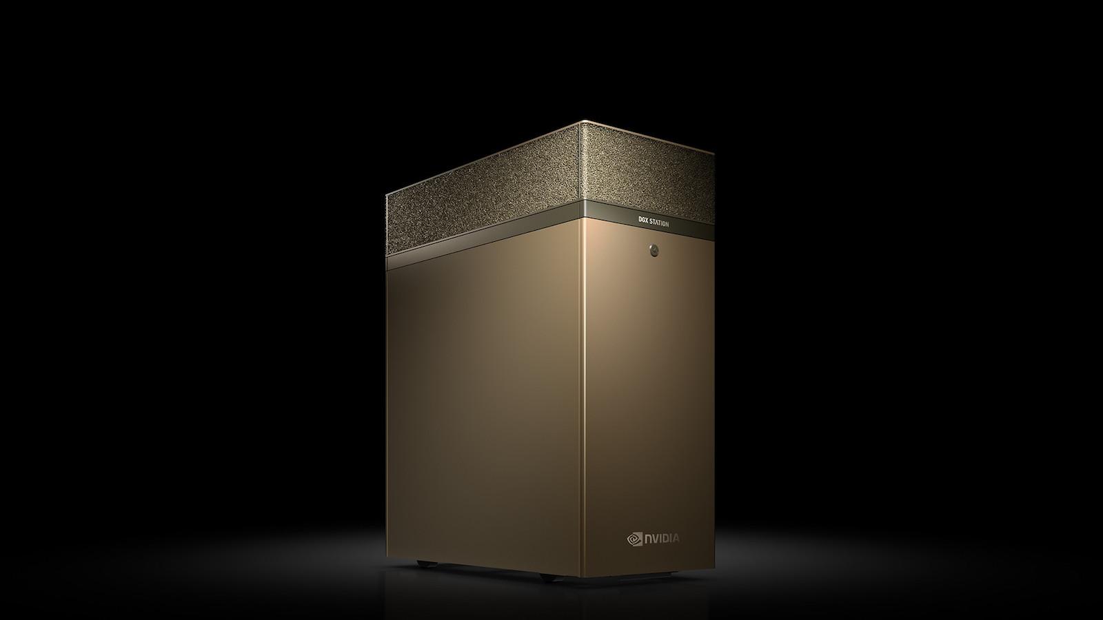 NVIDIA DGX STATION A100 desktop workstation comes with four 80GB GPUs