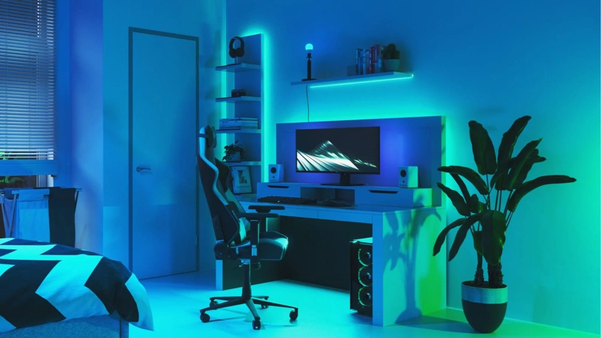 Nanoleaf Essentials smart lighting basics is a collection of bulbs and lightstrips