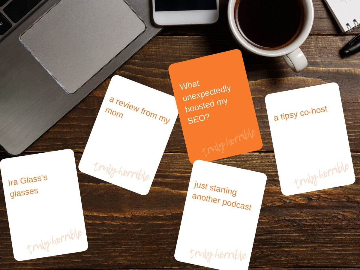 Niche: The Podcast Experience is a snarky card game for podcasters