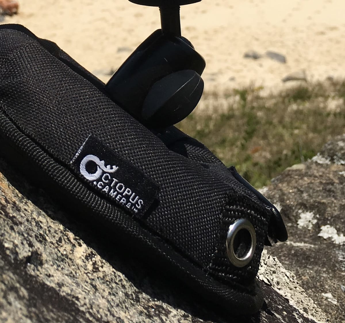 OctoPad universal camera stand acts as a tripod for your phone, camera, or action camera