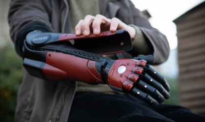 Open Bionics x Konami Venom Hero bionic arm