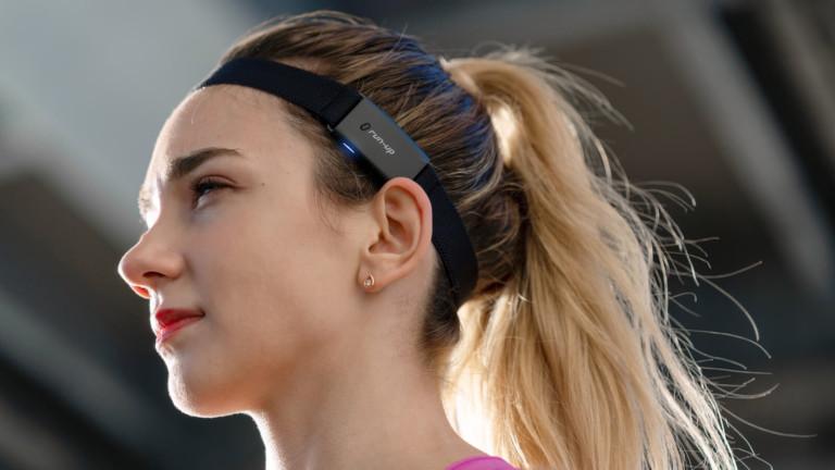Audio Headband RUN-UP performance audio headband reduces sound leakage & boasts deep bass