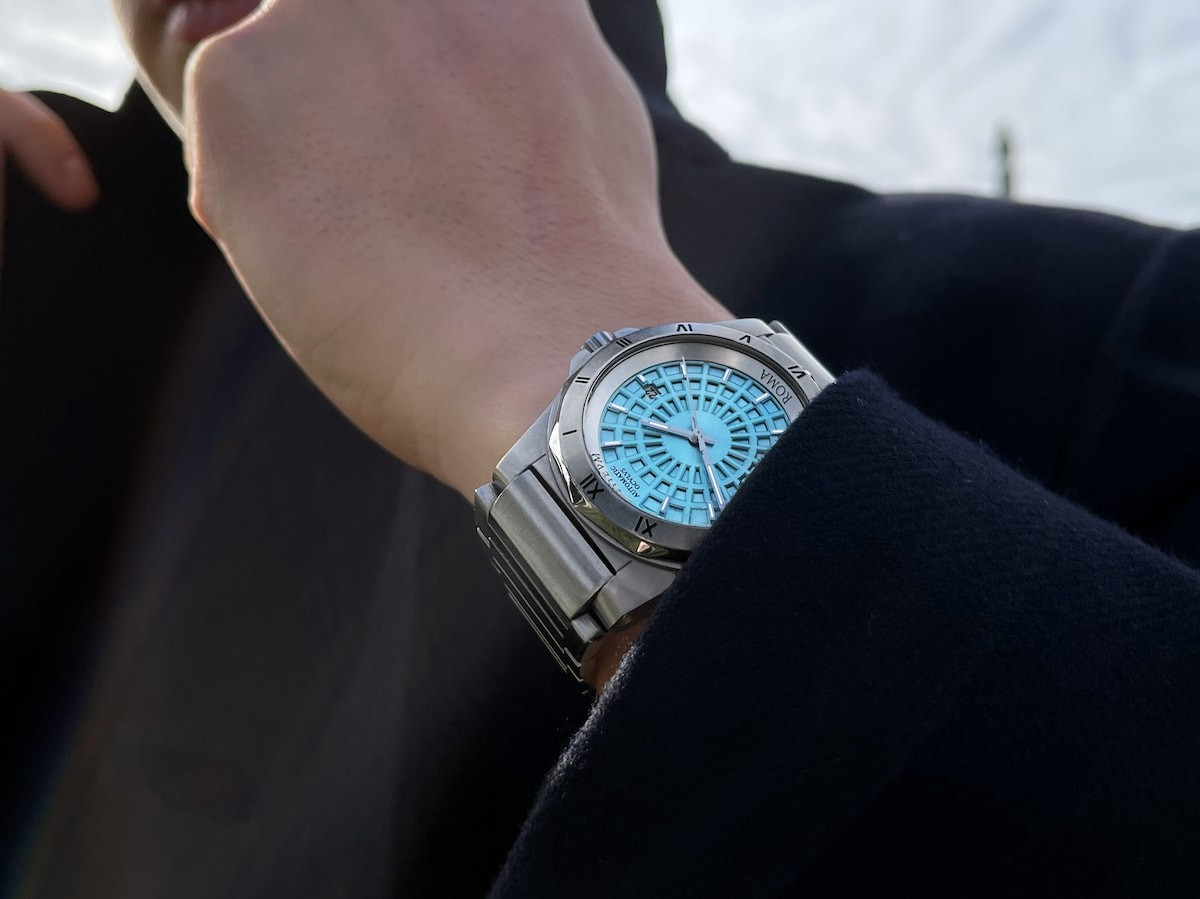 Panthevm Roma La Nuova Dolce Vita Rome-inspired watch incorporates the Pantheon's dome