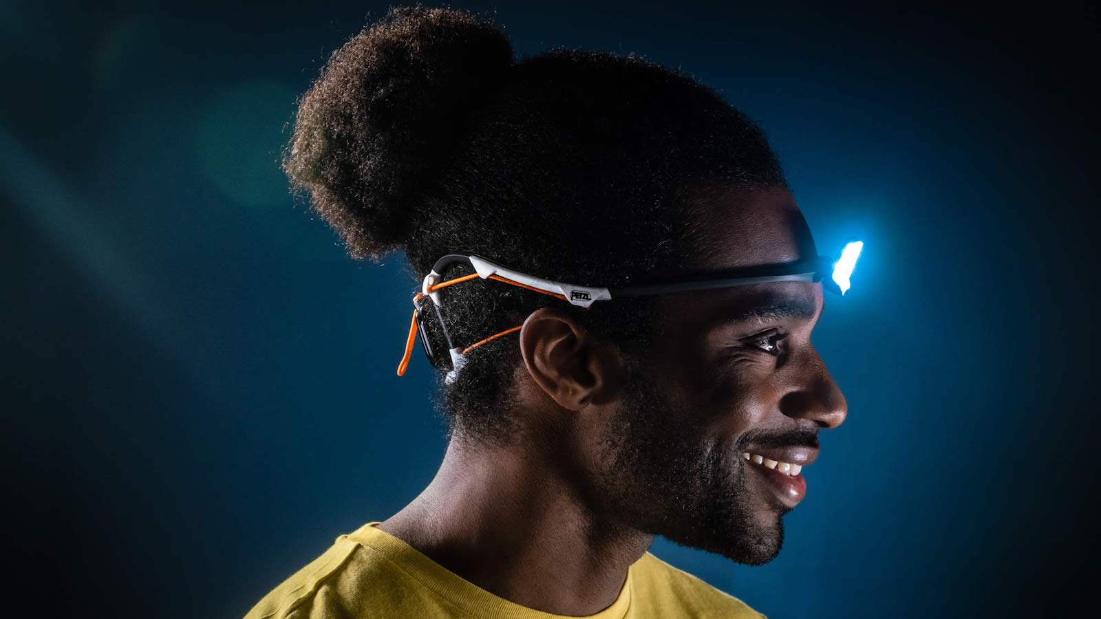 Petzl IKO CORE Wearable Headlamp features a patented AIRFIT headband for comfort