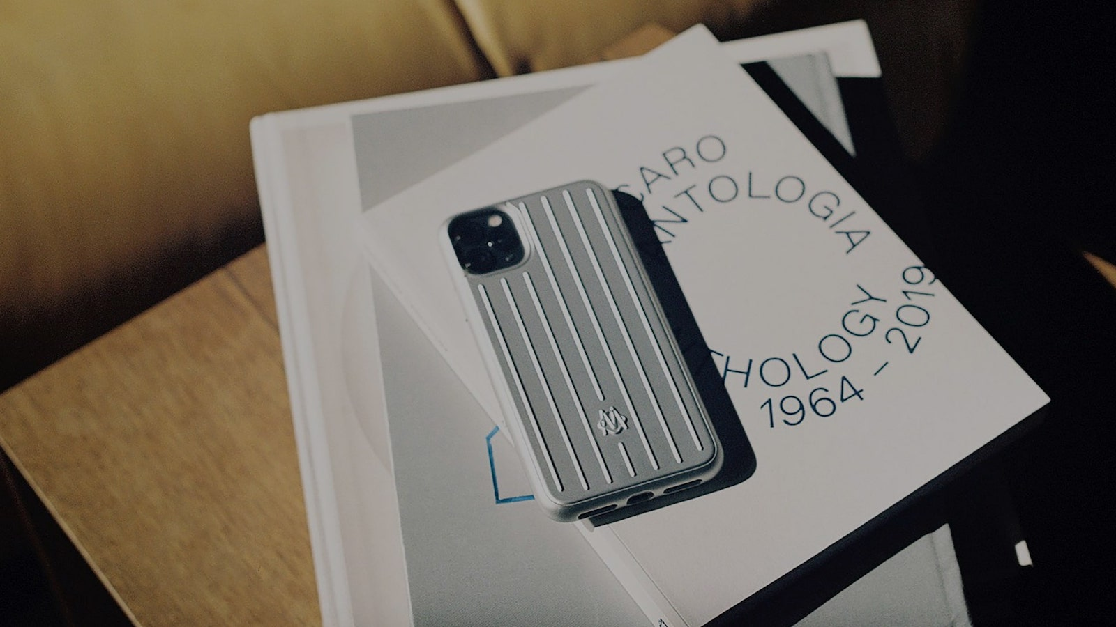 RIMOWA Collection of iPhone 12 Cases protects your phone against scratches