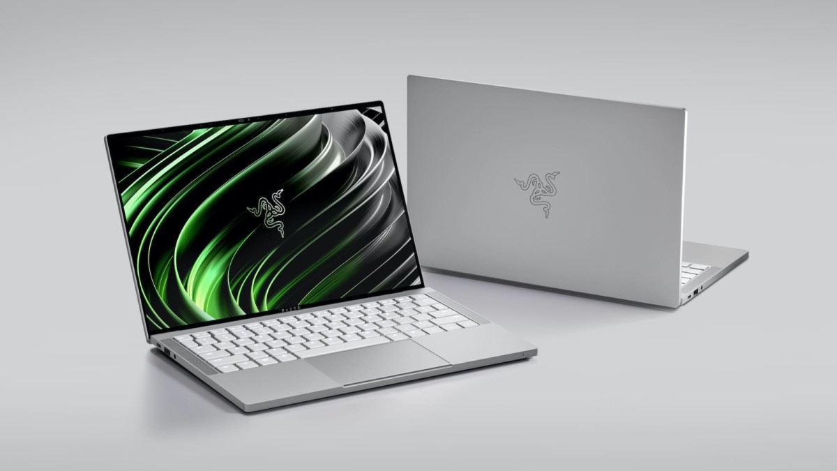 Razer Book 13 productivity laptop has a compact, portable design for easy mobility
