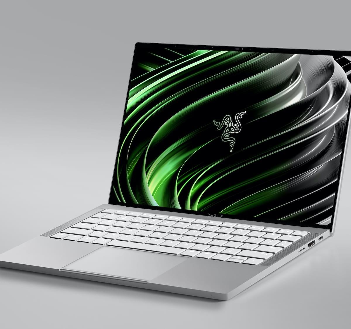 Razer Book 13 productivity laptop has a compact, portable design for easy mobility