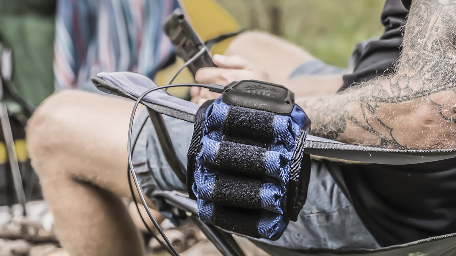 Rolla flexible portable battery pack is multifunctional across all applications