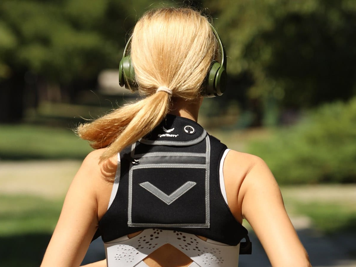 Runtasty Running Mini Backpack Vest holds your smartphone and other gear on the go