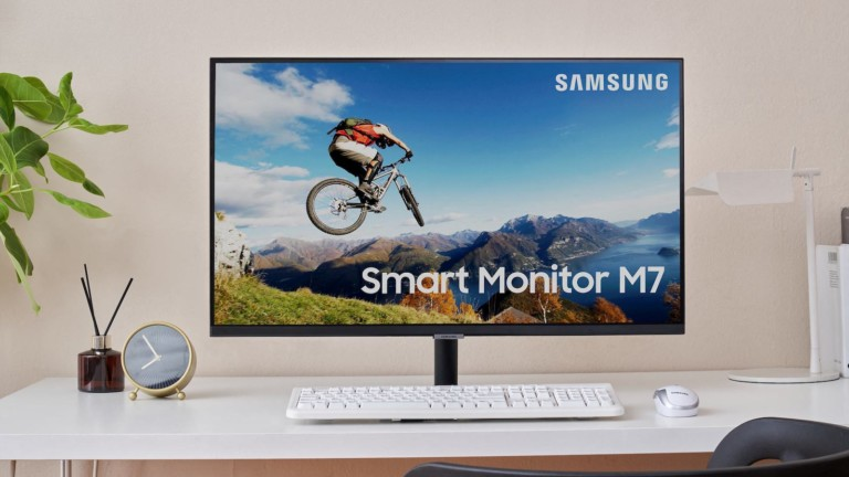 Samsung M7 smart monitor offers versatility for working from home and streaming TV shows