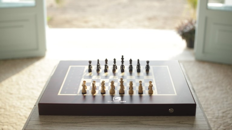 Square Off Grand Kingdom Set Smart AI Chessboard
