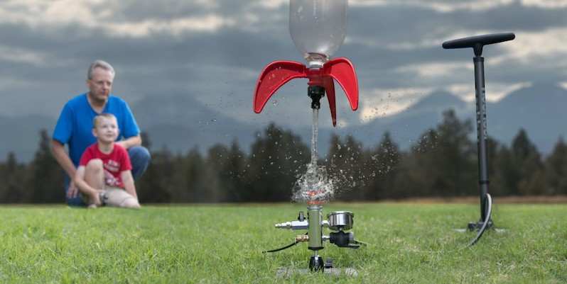 StratoLauncher IV Series water rocket launcher