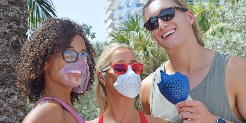 Tactika Facewear integrated mask & sunglasses