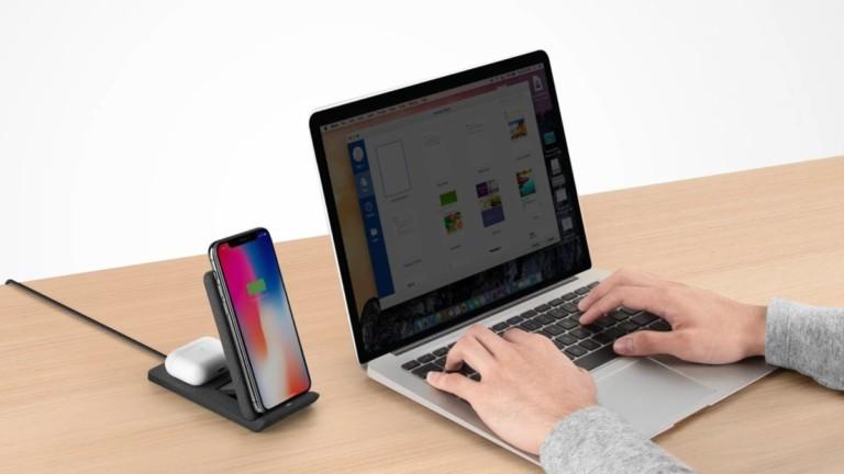 UNIQ Vertex Duo Foldable Dual Fast Wireless Charger