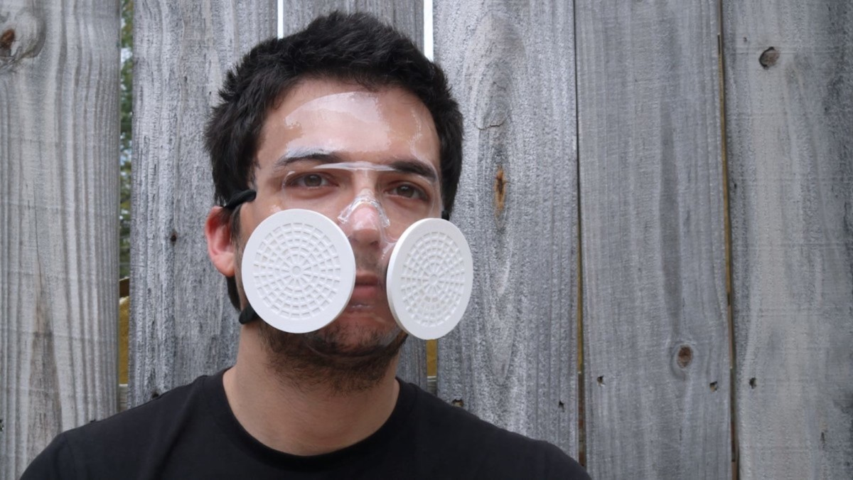 This 3D face mask provides a custom-made fit
