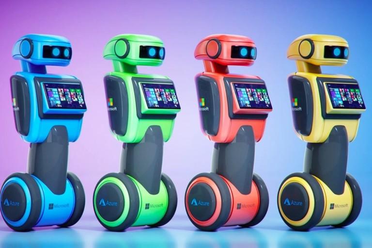 Microsoft Autonomous Robots with Azure Cloud