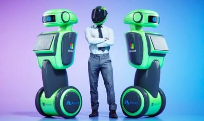 Microsoft's autonomous robots with Azure Cloud