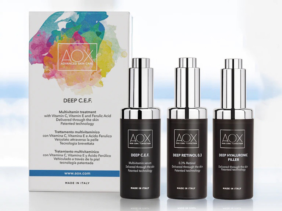 AOX Deep Delivery System uses antiaging technology with proven effectiveness