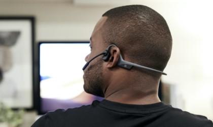 AfterShokz OpenComm bone-conduction headset OpenComm bone-conduction headset