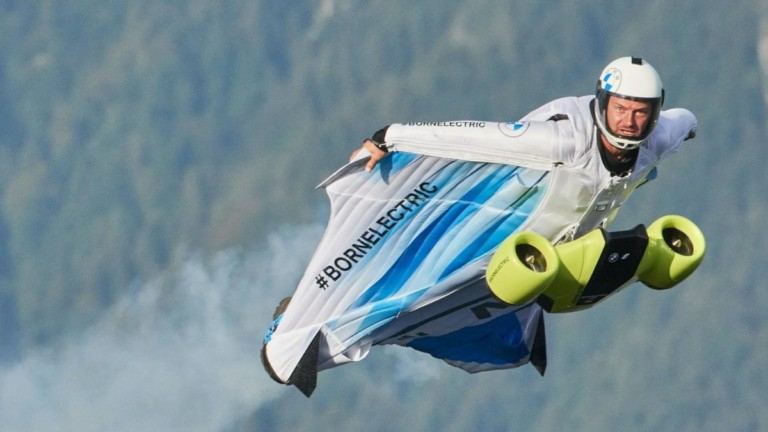 BMW Electrified Wingsuit