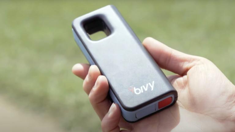 Bivy Stick Blue Satellite Communicator Device