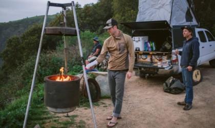 Burch Barrel Portable Suspended Barbecue