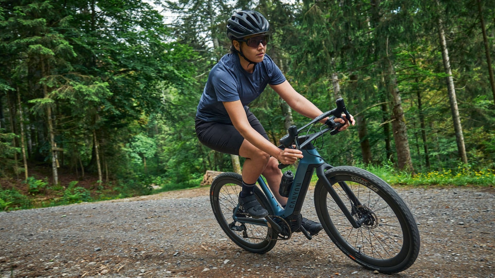 Canyon Grail:ON gravel eBikes give you power for trails, roads, and everything else