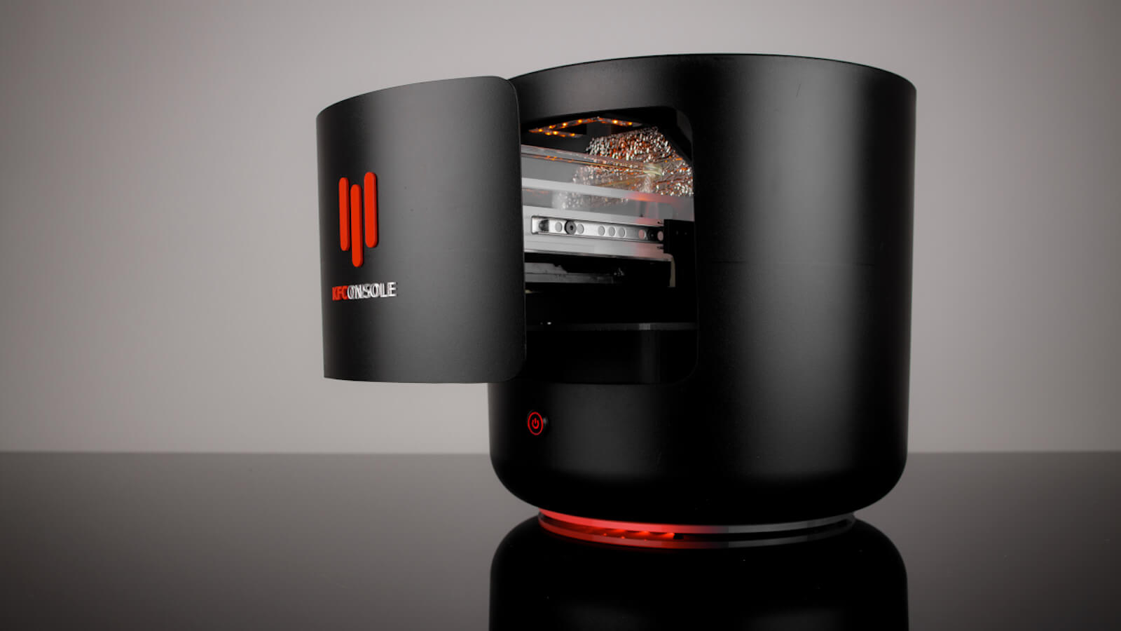 Cooler Master KFConsole bucket-shaped gaming PC also warms chicken