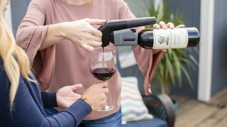 Coravin Model Three wine preservation system protects your wine for years