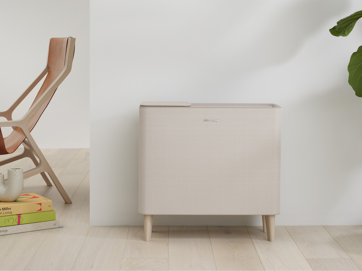 Coway Icon quiet air purifier captures 99.9% of ultrafine dust and odors