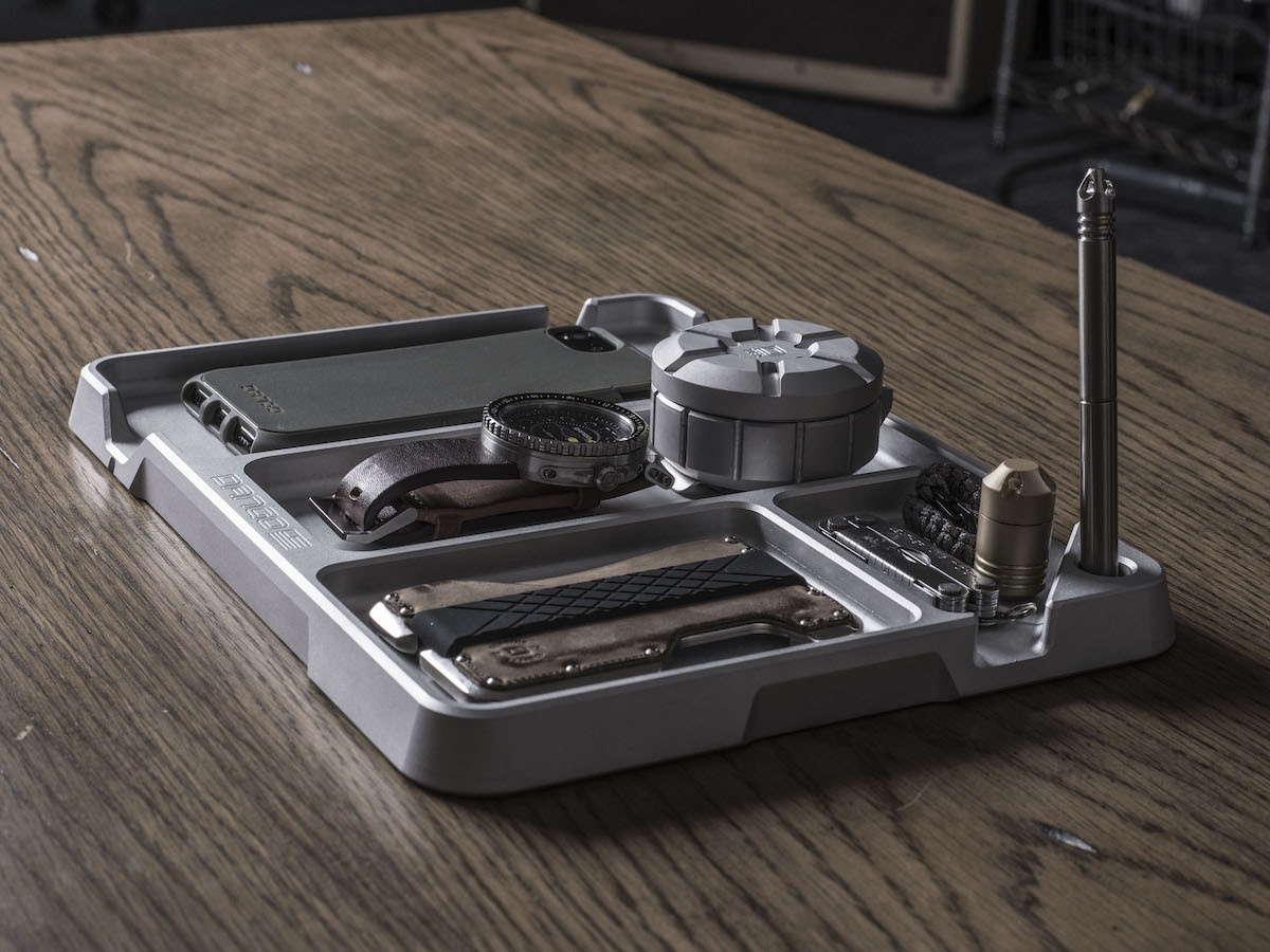 Dango Products EDC Tray with DTEX Pads keeps your everyday carry items organized